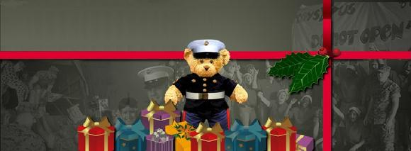 Toys For Tots Marine Bear : Marine corps reserve michigan lakeshore toys for tots